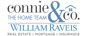 Connie and Co The Home Team Logo