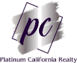 Platinum California Realty Logo