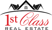 1st Class Real Estate Logo