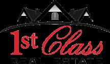 1st Class Real Estate Gulf to Bay Logo