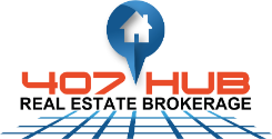 407Hub Real Estate Brokerage Logo