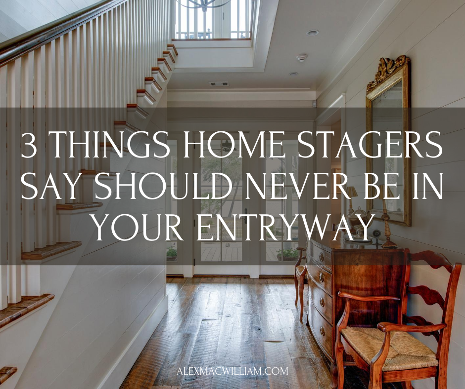 3 Things Home Stagers Say Shouldn't Be in Your Entryway