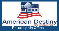 Philadelphia * American Destiny Real Estate Logo