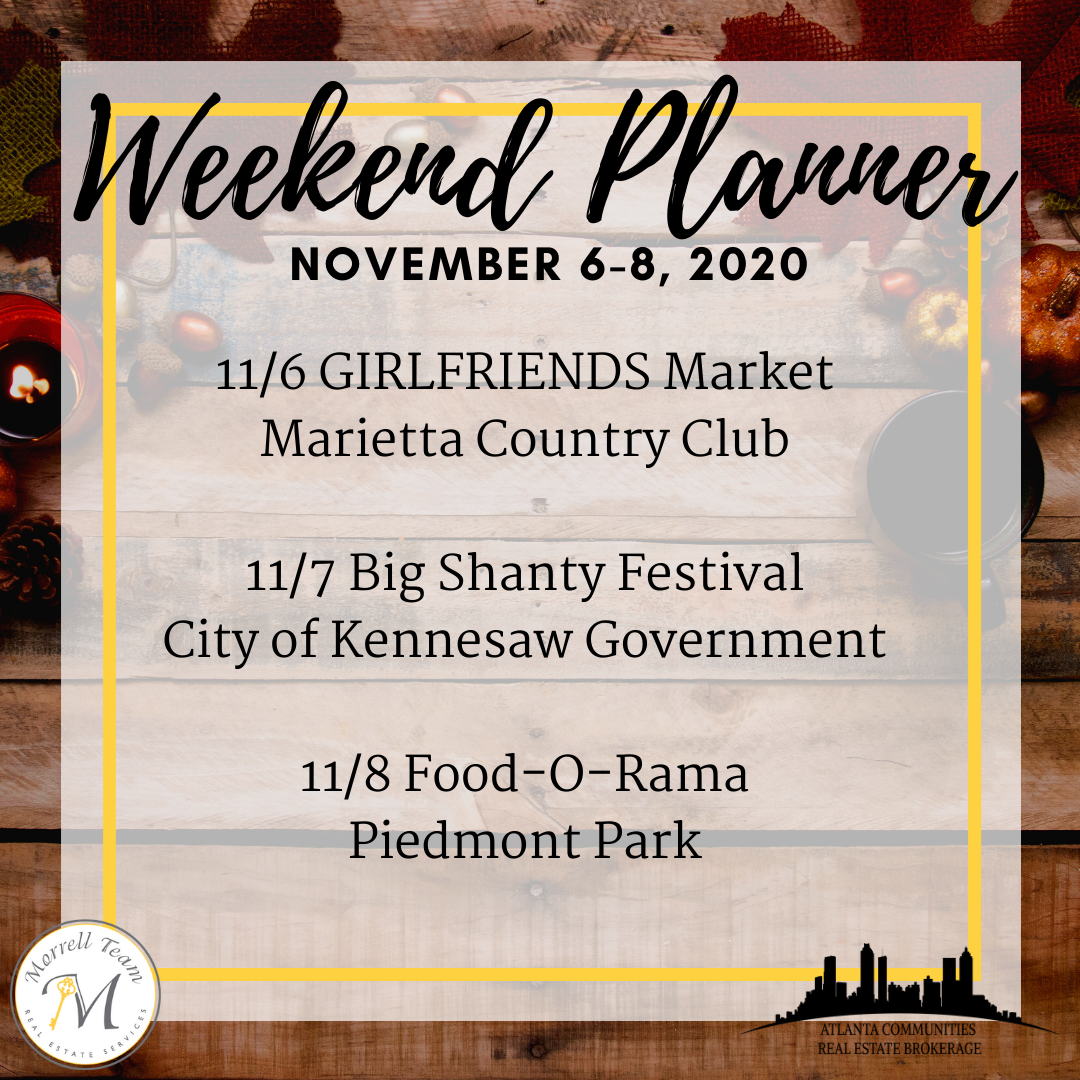 Weekend Planner November 6-8