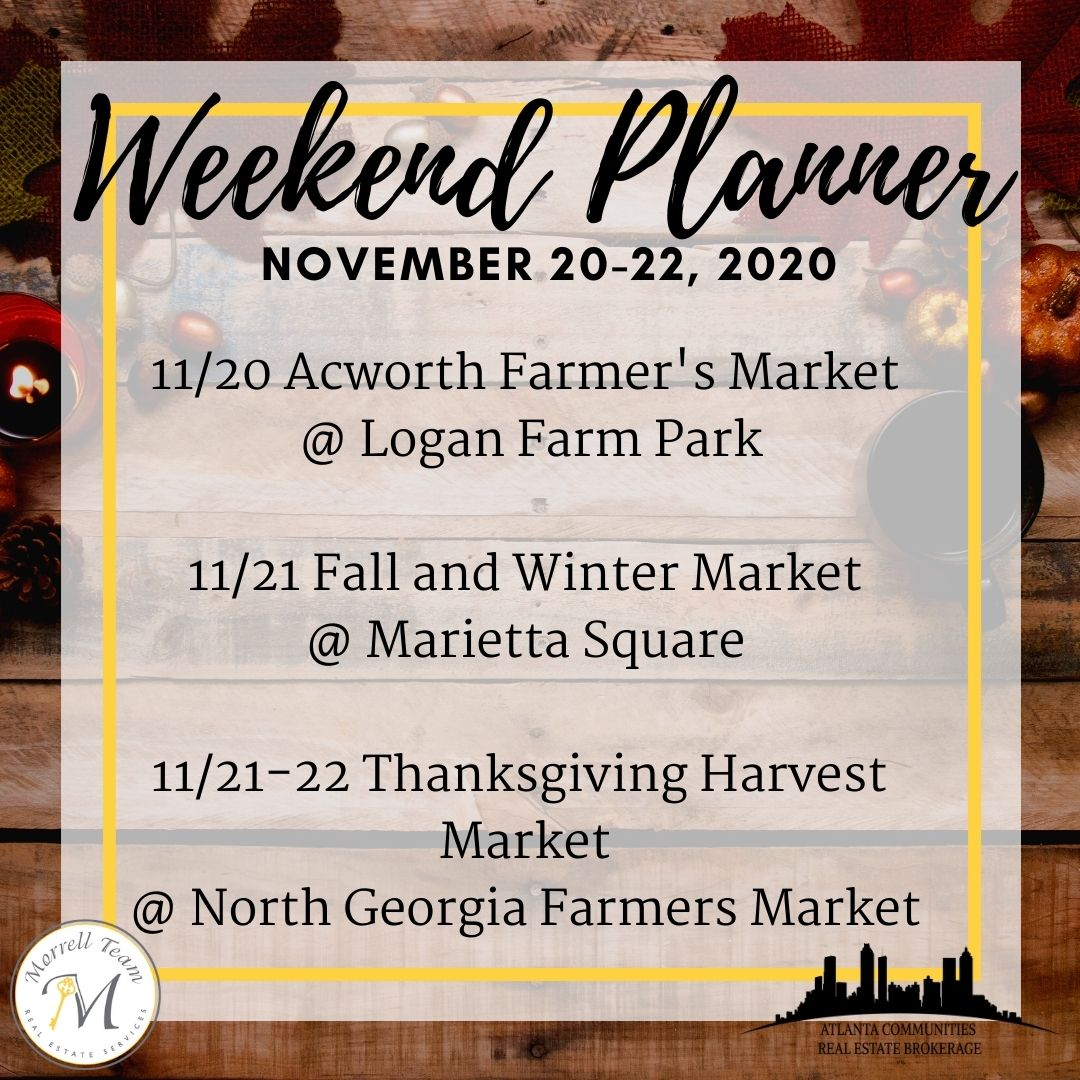 Weekend Planner Nov 18 2020