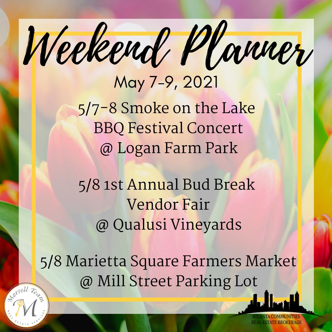 Weekend Planner 5-4-21