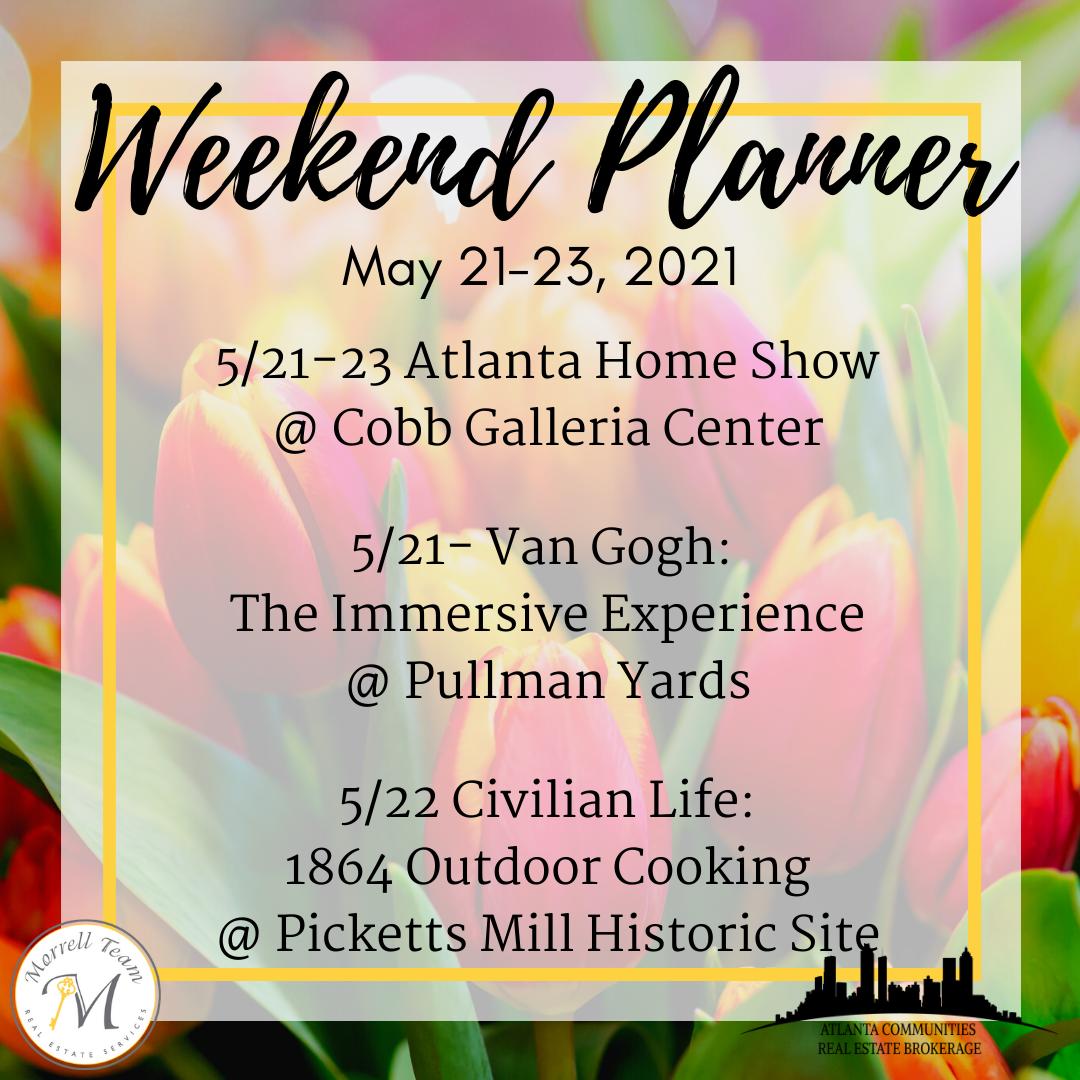 Weekend Planner 5-19-21