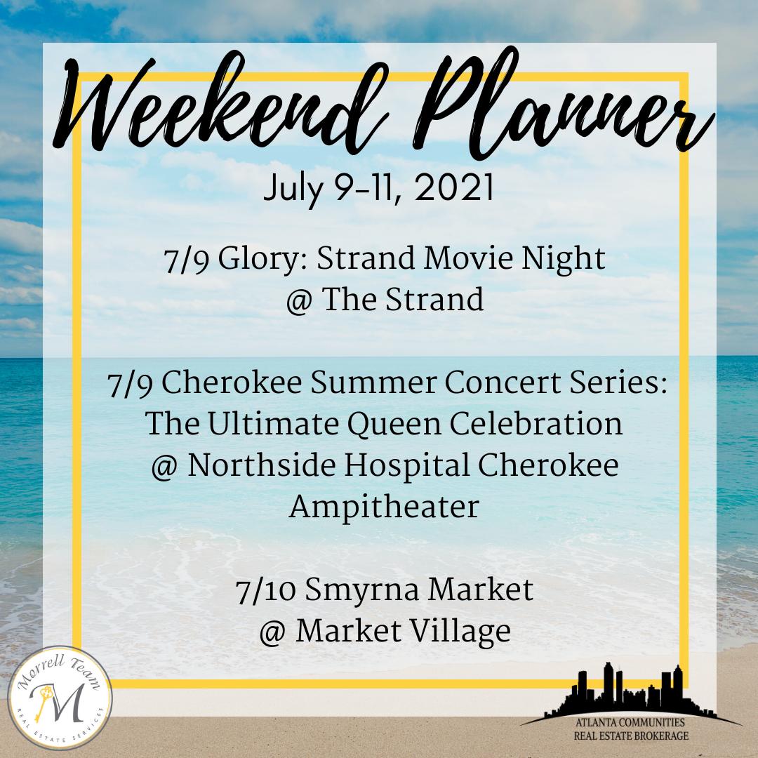 Weekend Planner 7-7-21