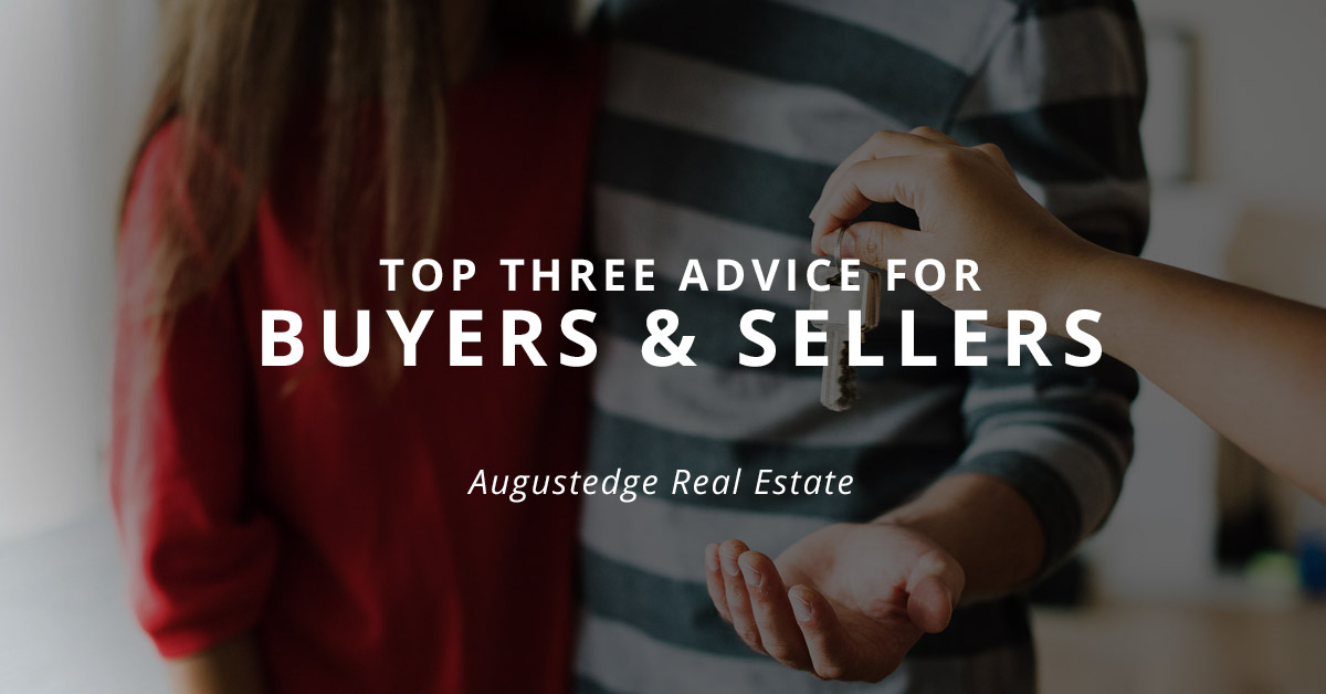 Realtor advice for buyers & sellers