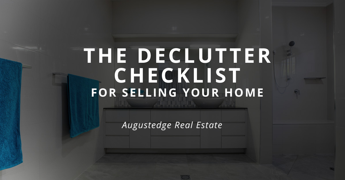 The Declutter Checklist for Selling Your Home