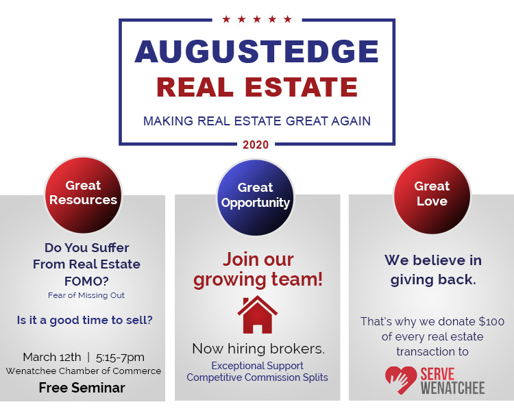Augustedge Real Estate - Making Real Estate Great Again