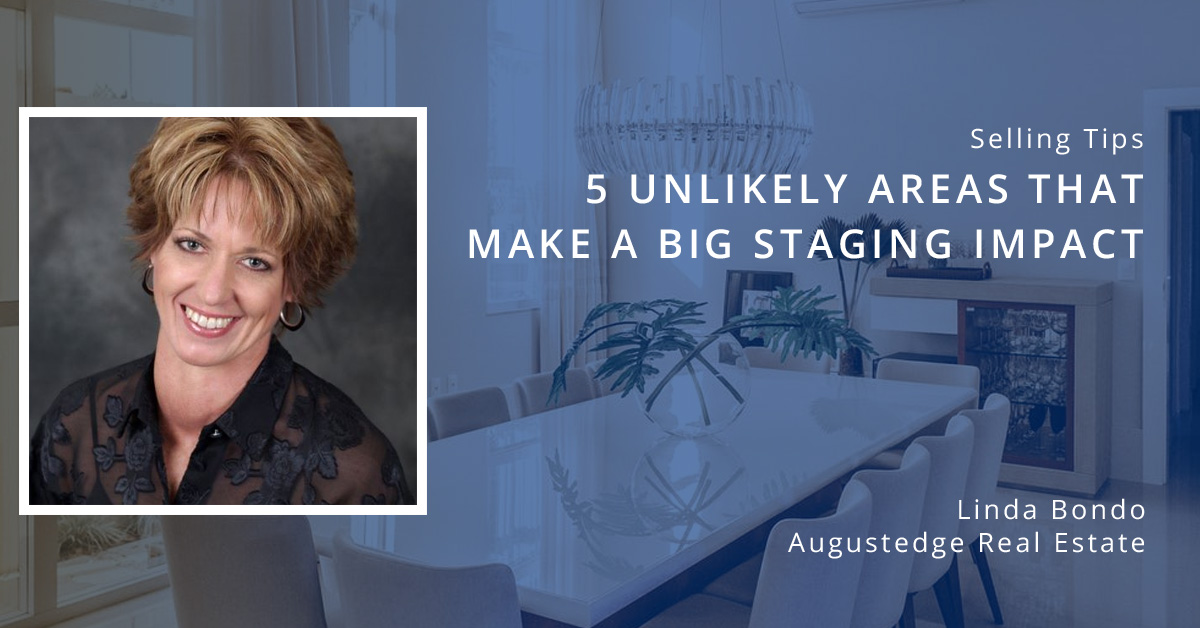 5 Areas that make a big staging impact