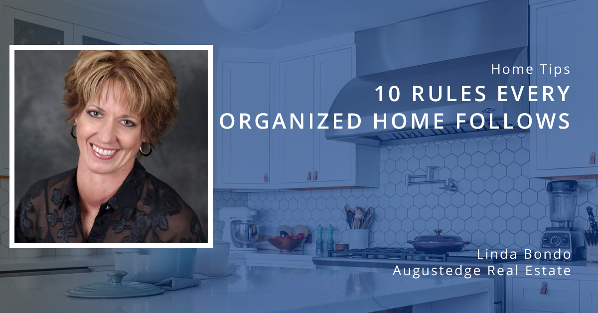 10 Rules Every Organized Home Follows