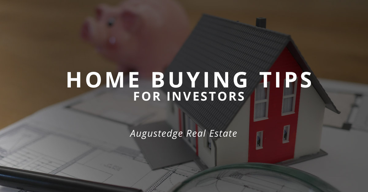 Home Buying Tips for Investors