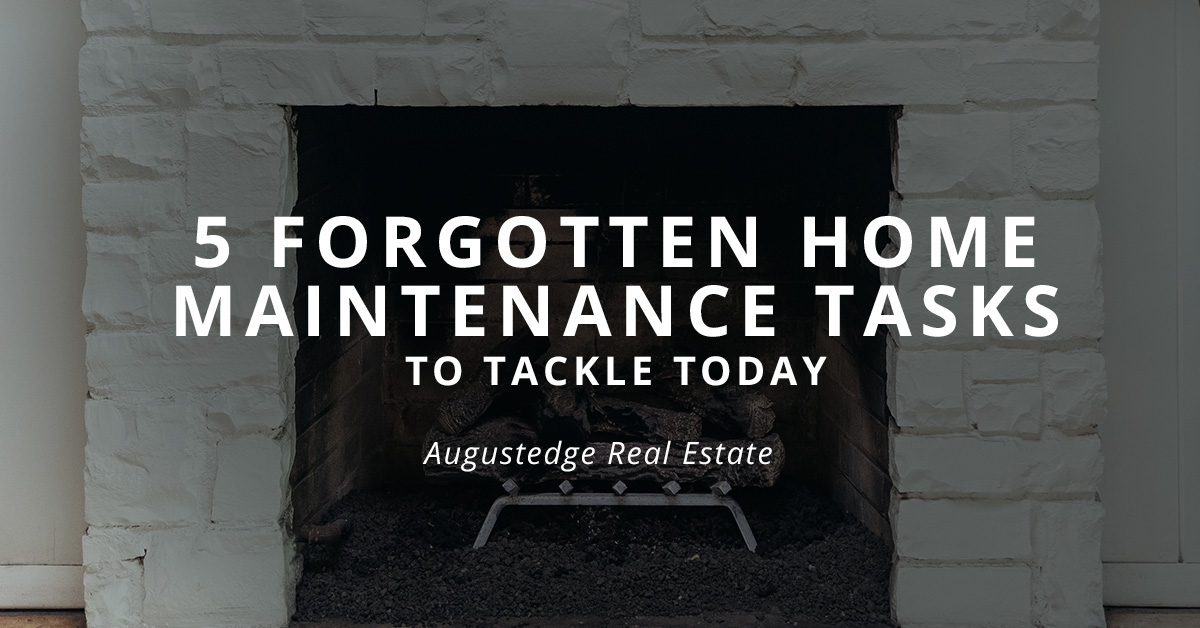 5 Forgotten Home Maintenance Tasks to Tackle Today