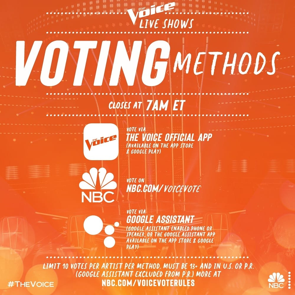 How to vote for Southwest Florida Country Music Star Ben Allen On The Voice Hoey Team exp realty 11 27 2020