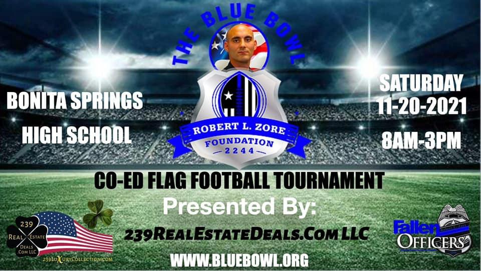 Blue Bowl Presented By 239RealEstateDeals.Com LLC Barry Hoey Broker Owner Hoey Team SW FL