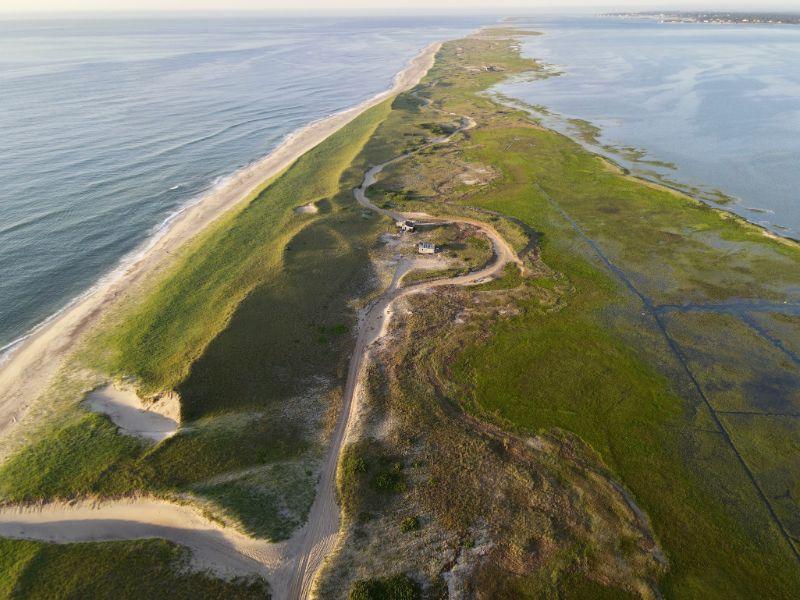 Sandy Peninsula with dirt road