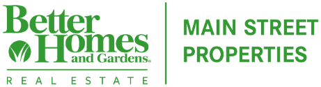 Better Homes and Gardens Real Estate Main Street Properties Logo