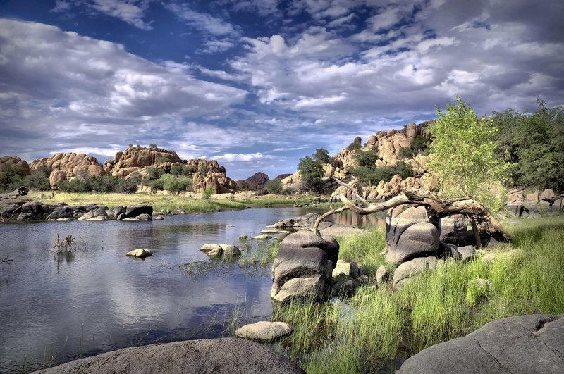 Lake in Prescott AZ