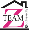 • Zandra Ulloa • Realty Group • Brokered by Active Realty • Logo