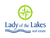 Lady of the Lakes Real Estate, Inc. Logo