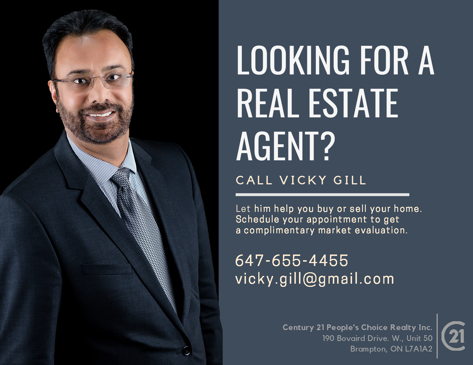 Looking for Real Estate Agent