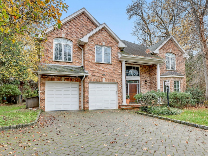 All brick colonial home in closter