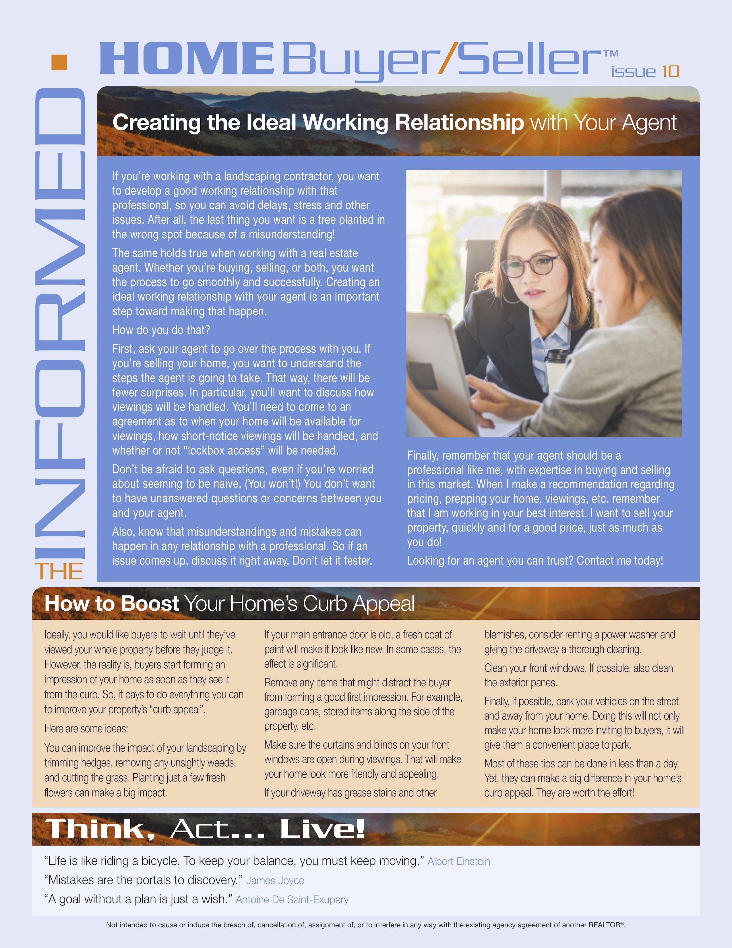 Informed Home Buyer Oct 18