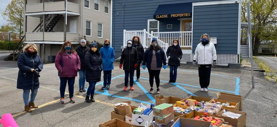Classic Properties Real Estate Agents Food Drive