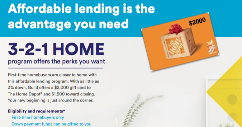 Free money! 321 Home First Time Home Buyer Program