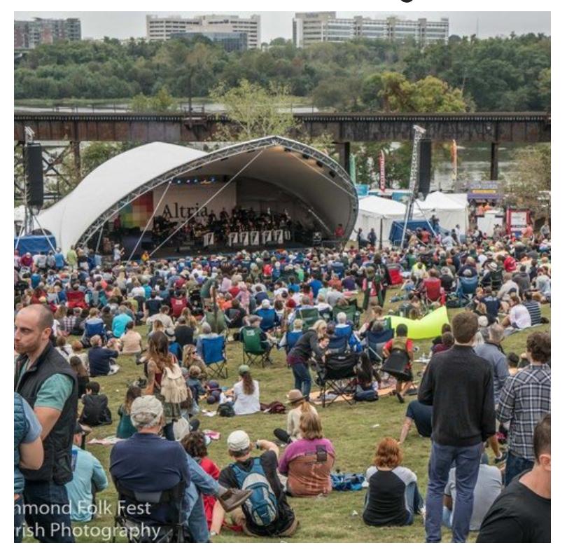 Richmond Folk Festival
