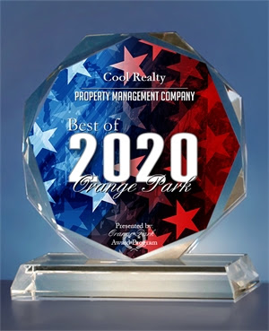 2020 Best of Orange Park Awards in the category of Property Management Company