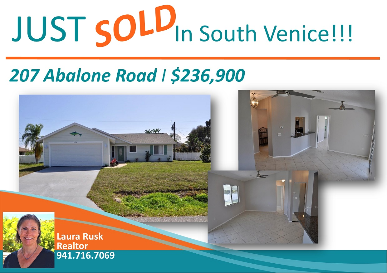 Just SOLD - 207 Abalone Road