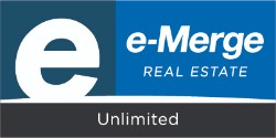 e-Merge Real Estate Unlimited Logo