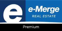 e-Merge Real Estate Premium Logo