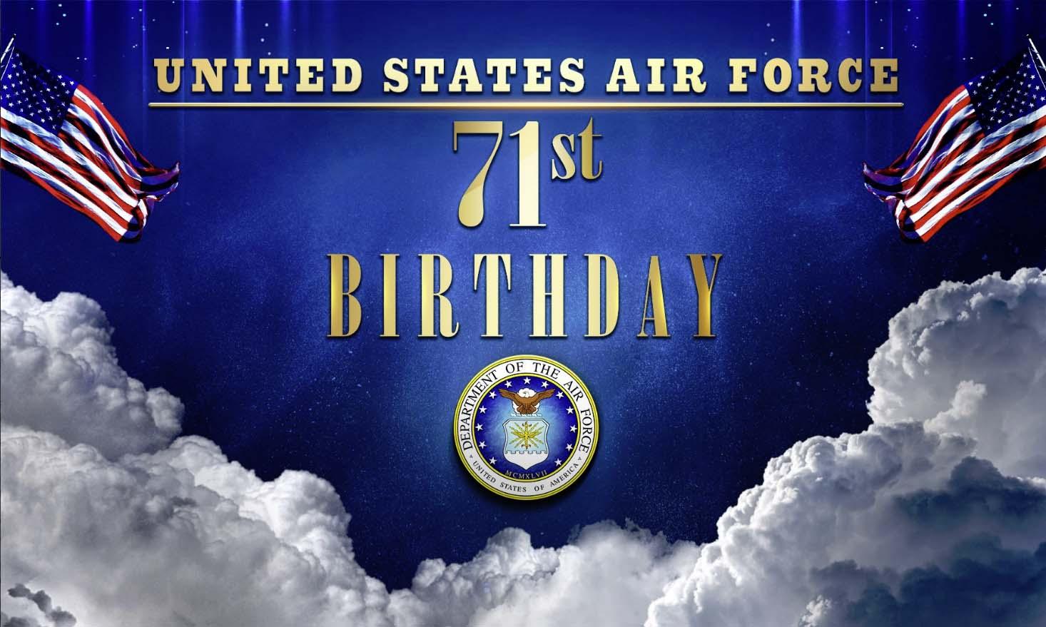 Happy Birthday Air Force