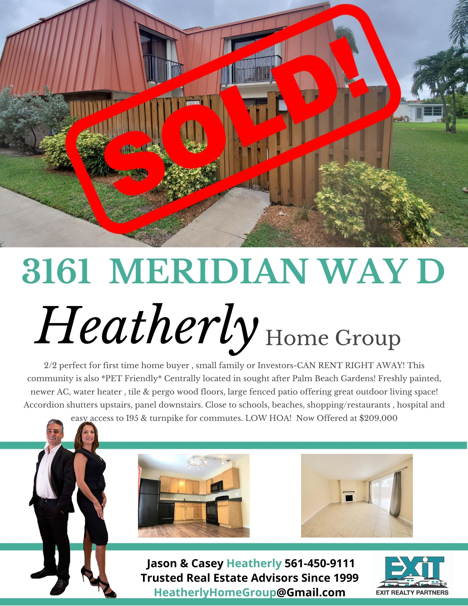 Jason and Casey Sold another home