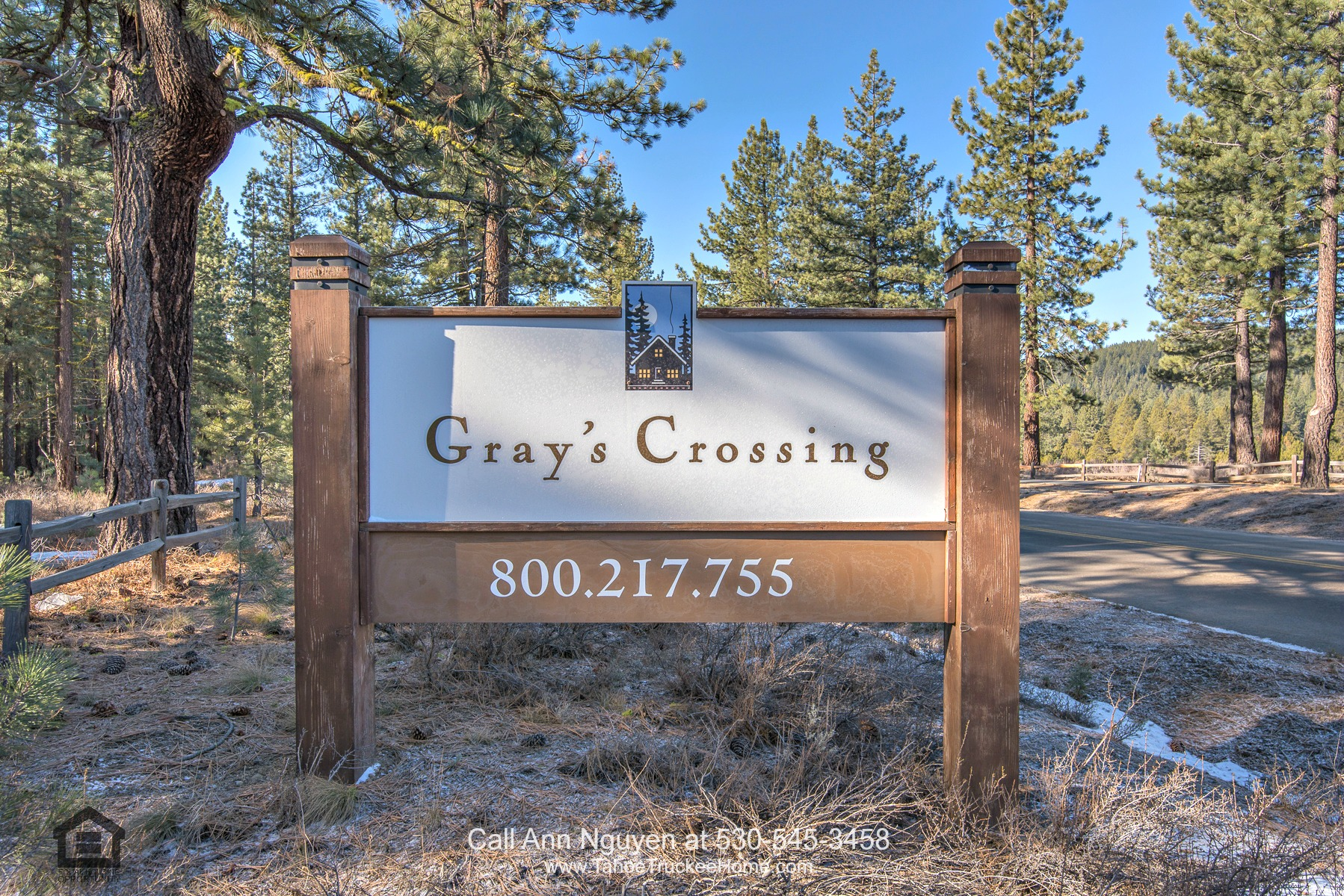 Lots in Truckee CA -  Convenience, easy access and scenic setting are yours in this Truckee CA lot for sale.
