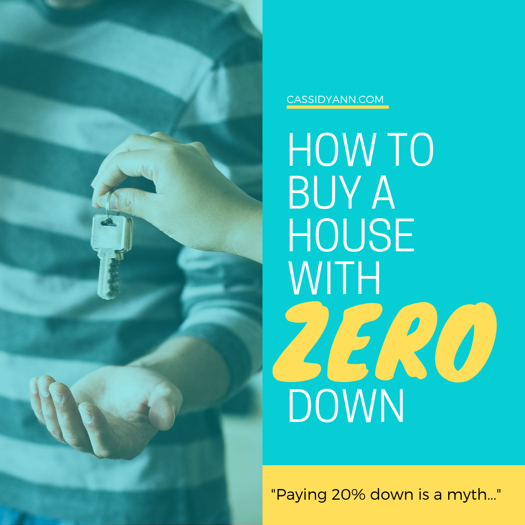 How to buy a house with zero no down payment