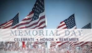 Memorial Day Weekend 2019