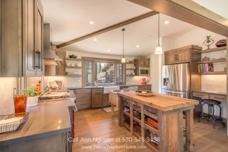 Homes for Sale in Truckee CA - Embrace the desires of your inner chef in the gourmet kitchen of this home for sale in Truckee CA.