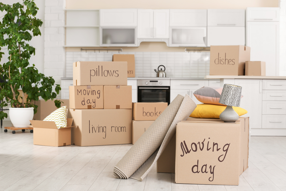 Moving Day in the <a href=