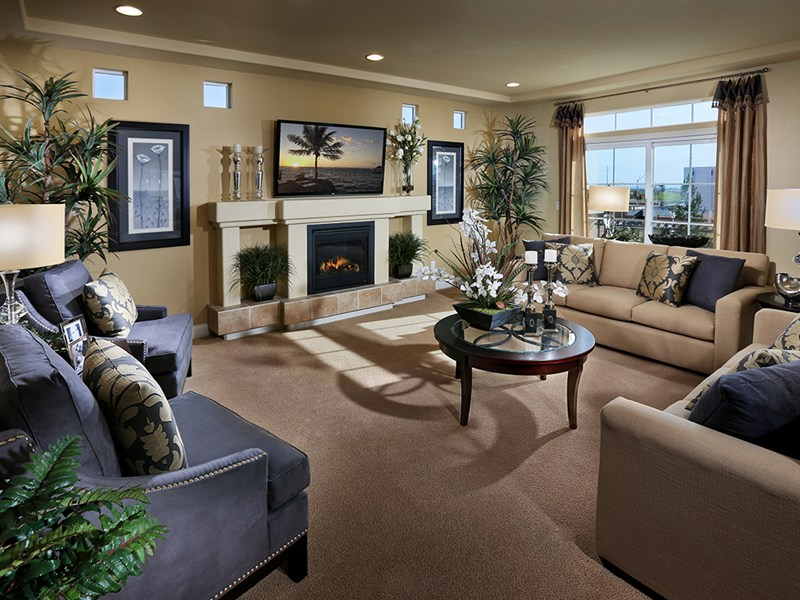 American West Plan 3990 Family Room