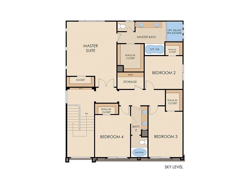 Plan 3990 by American West at Brentwood Las Vega, NV