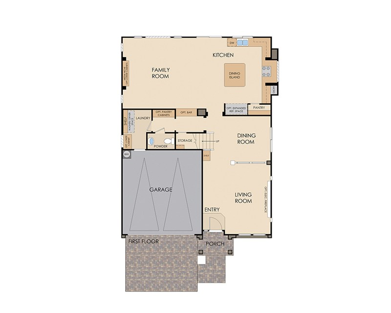Plan 3019 by American West at Brentwood Las Vegas, NV