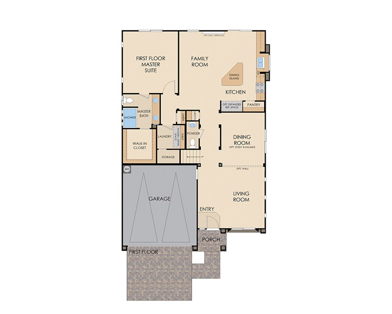 Plan 2689 by American West at Brentwood Las Vegas, NV