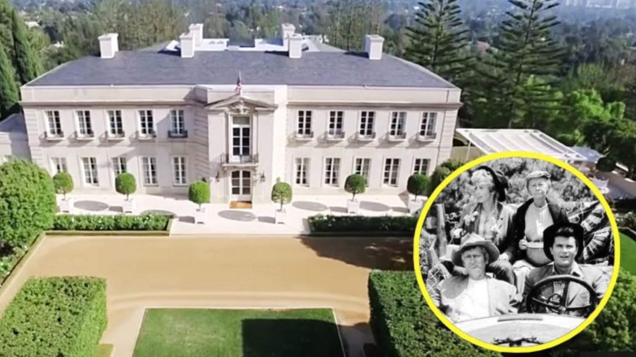 Beverly Hills Mansion Sold used for Beverly Hillbillies cast
