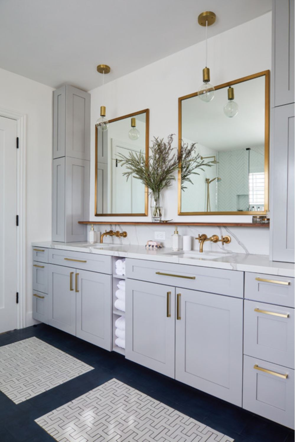 From Realtor Magazine 12 30 2019 one of the Top 10 Bathrooms of 2019 Hoey Team eXp Realty