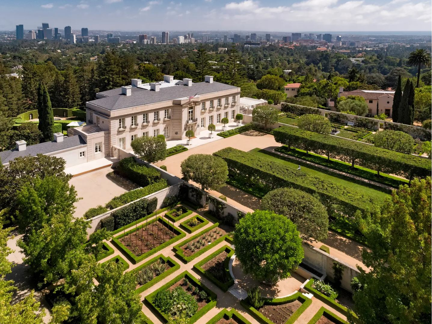 Most Expensive Homes sold within the past decade 2020 Jan - Bel Air Beverly Hillbillies Mansion CA - Hoey Team eXp Realty